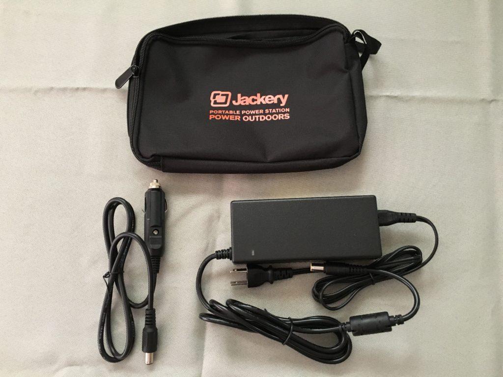 ジャックリーのポーチ、充電コード、シガーソケット用の充電コード