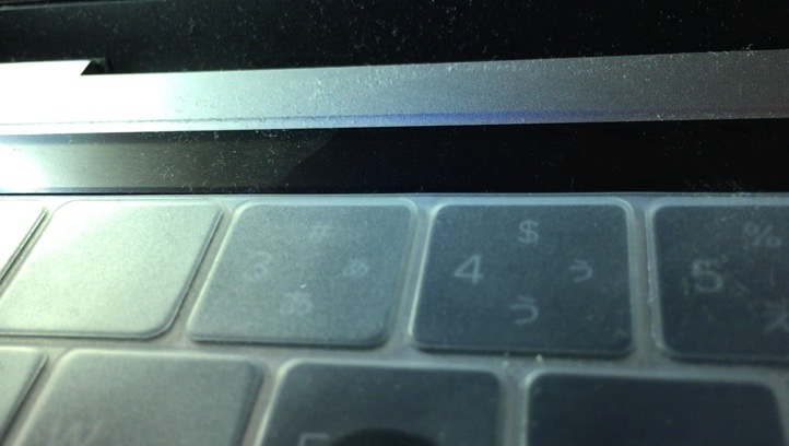 少し綺麗になったキーボード