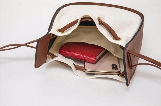 Ungrid ブランドブック ムック本 巾着型ショルダーバッグはポケット付き