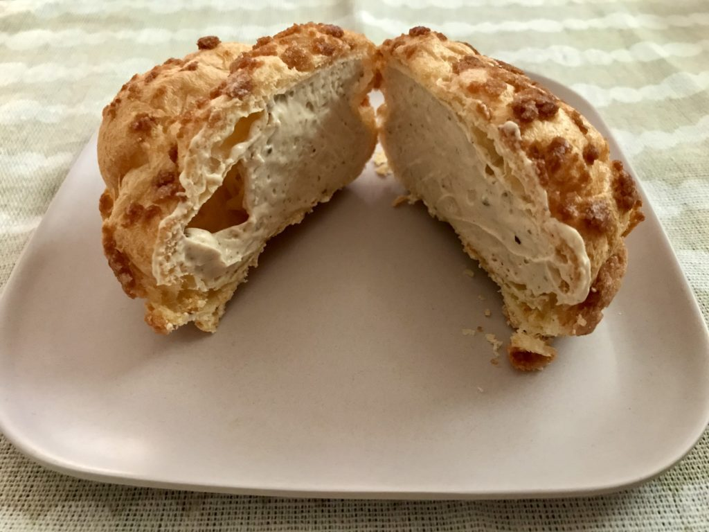 ビアードパパの作り立て工房 期間限定渋皮栗のモンブランシュー クッキーシュー