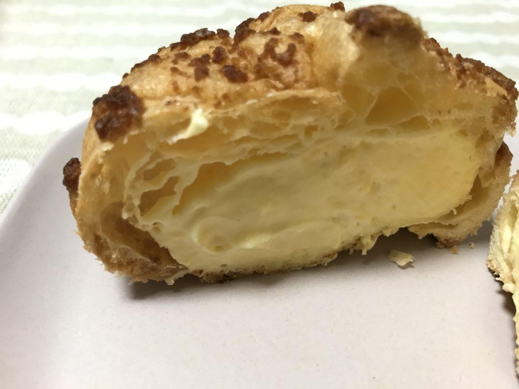 ビアードパパ  カスタードクリーム シュークリーム カロリー高めのクッキーシュー