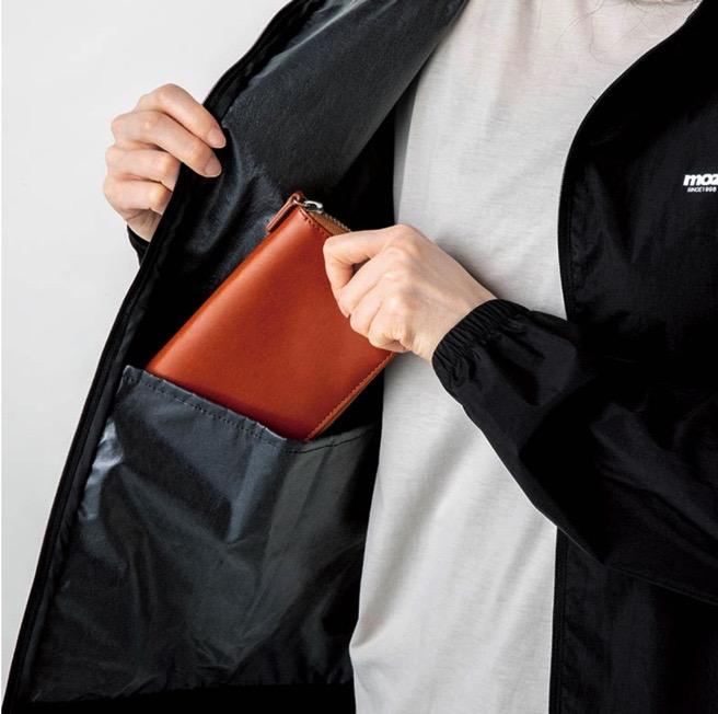 モズ ムック本 雑誌付録 ウインドブレーカーはポケットが多い