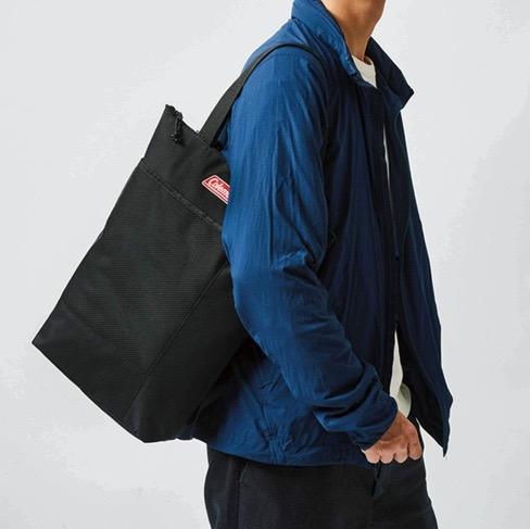 モノマックス1月号付録のコールマンバッグは背負える2way保冷保温バッグ