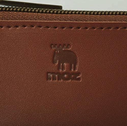 moz 雑誌付録 本革コンパクト財布BOOK