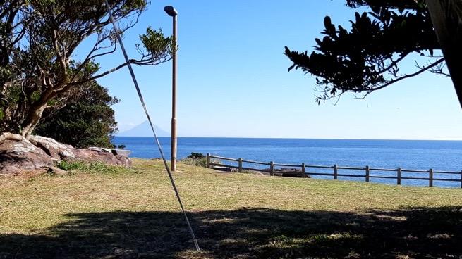 鹿児島県枕崎市火の神公園キャンプ場