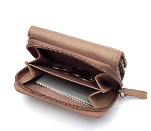 大人のおしゃれ手帖2月号付録はzuccaの三つ折り財布