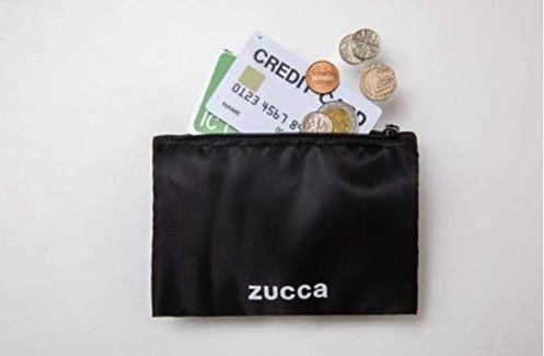 zuccaのエコバッグ ムック本はファスナーポケット付き