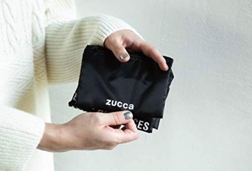 zuccaの折りたたみ式エコバッグ ムック本 ショッピングバッグブック