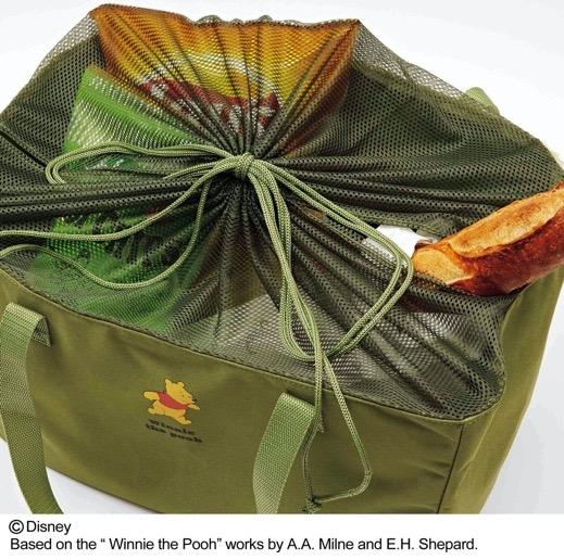スウィートsweet1月号付録のプーさん大容量エコバッグ