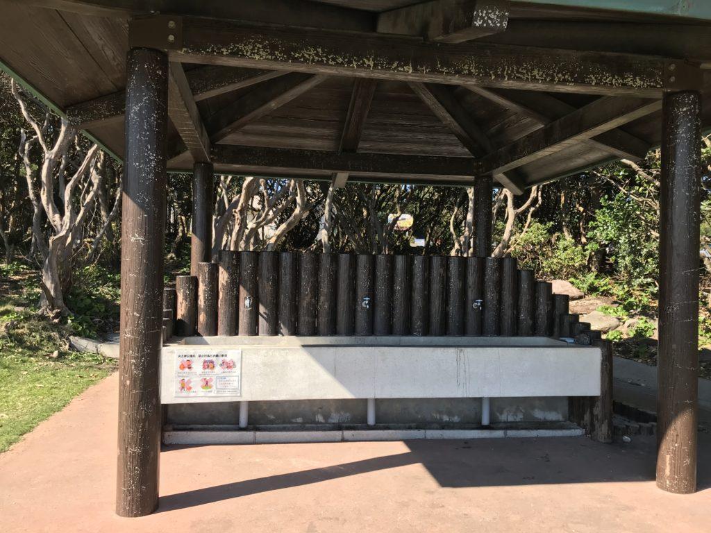 鹿児島県枕崎市火の神公園キャンプ場 水道
