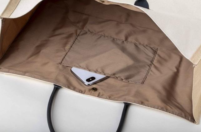 アングリッド 雑誌付録 ビッグトートバッグはポケット付き Ungrid Big Tote Bag Book