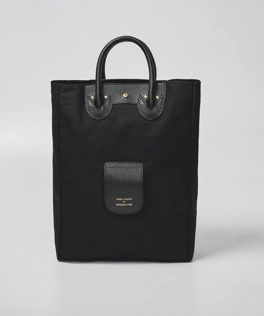 ヤングアンドオルセン ムック本 キャンバス地のバッグ