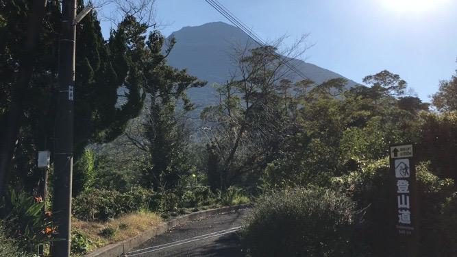 開門岳登山道