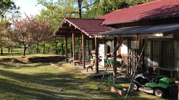 阿蘇 鍋の平キャンプ場 炊事棟