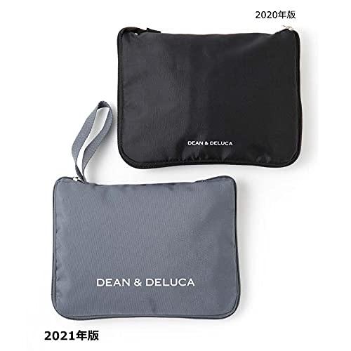 GLOW8月号通常版付録のDEAN&DELUCAのレジかご買い物バッグは折りたたみ式