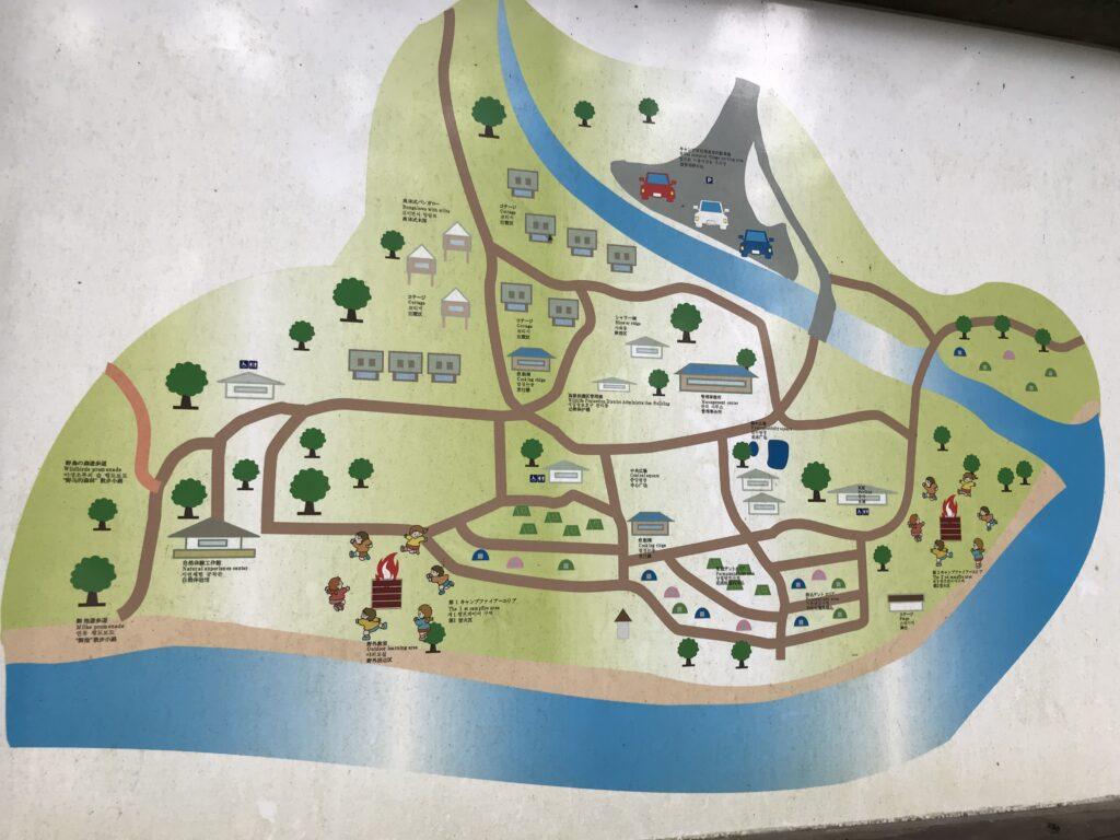御池キャンプ場 施設 設備