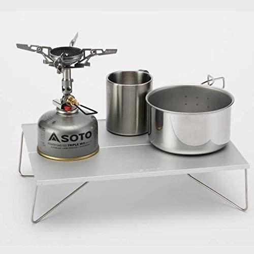 ソト(SOTO) ポップアップソロテーブル フィールドホッパー シルバー