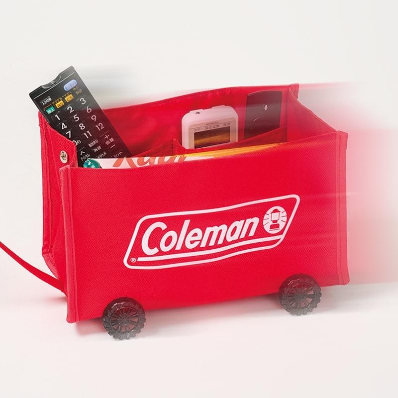 MonoMax8月号通常版はコールマンのミニチュア収納ワゴンが付録