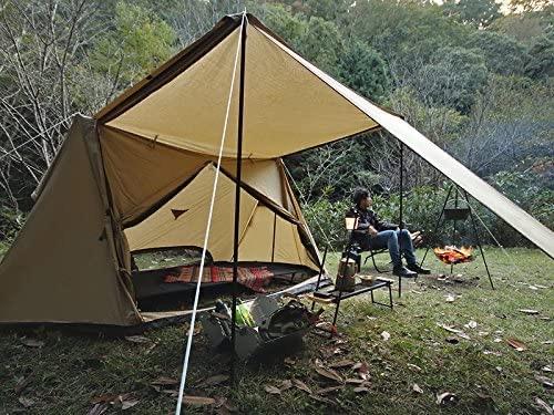 D.O.D(ドッペルギャンガーアウトドア) パップ風テント パップフーテント T2-540-TN パップテント