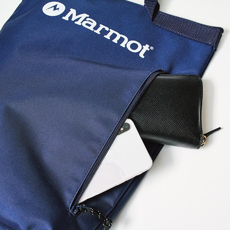 MonoMax8月号増刊号付録はマーモットお役立ちポケット付き2WAY保冷バックパック