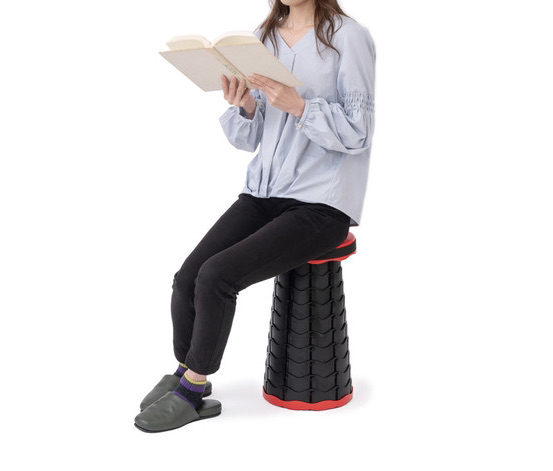 折り畳み椅子が付録 DIME FOLDING STOOLセブンイレブン限定