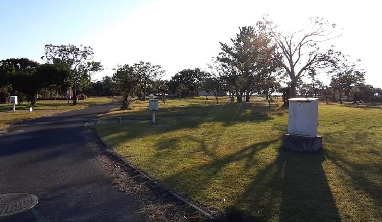 鹿児島県休暇村指宿 指宿エコキャンプ場 オートキャンプ